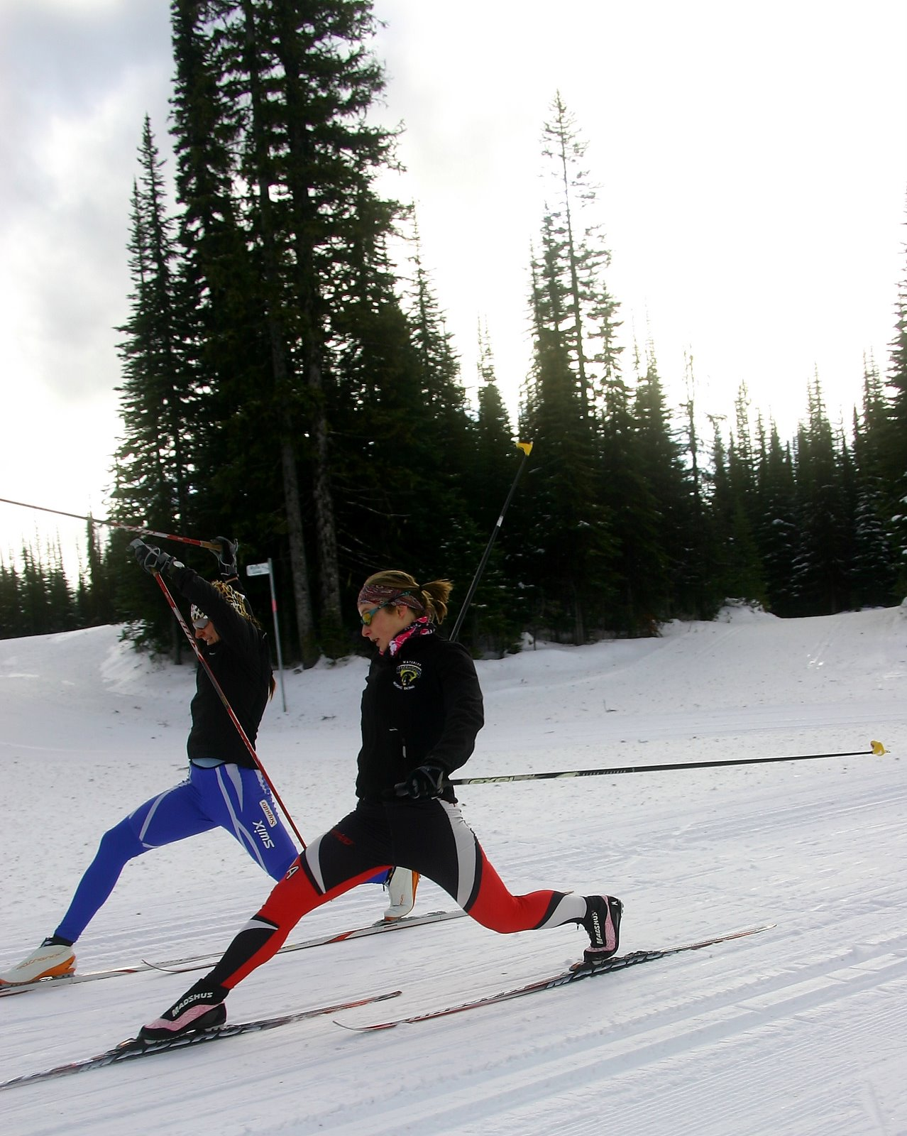 Some sprints in Silverstar